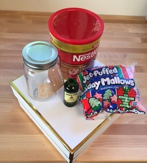 DIY Cocoa Favor Supplies
