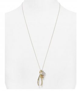 This sweet charm necklace from Baublebar would complete any pre wedding party outfit as well as make a really great bridesmaids gift!