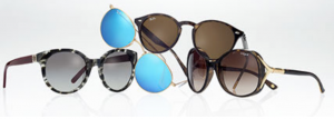 Stock up on designer shades for your honeymoon or vacation