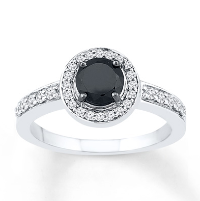 Kay Black Diamond Ring