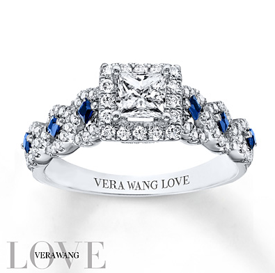 Vera Wang Love Diamond Ring