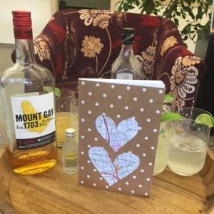 Ginger beer cocktails and DIY Travel Journal
