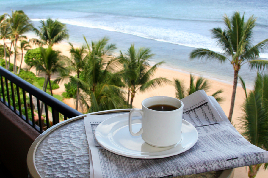 Coffee in paradis