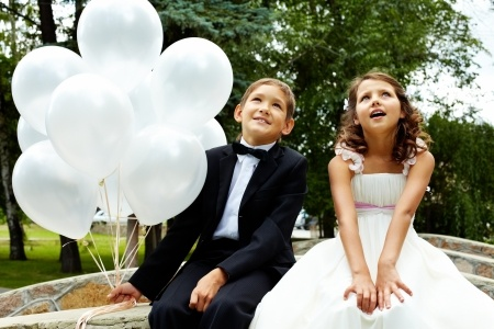Kids at wwedding