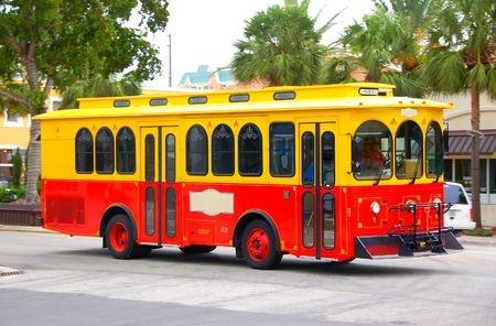 Trolley for wedding transport