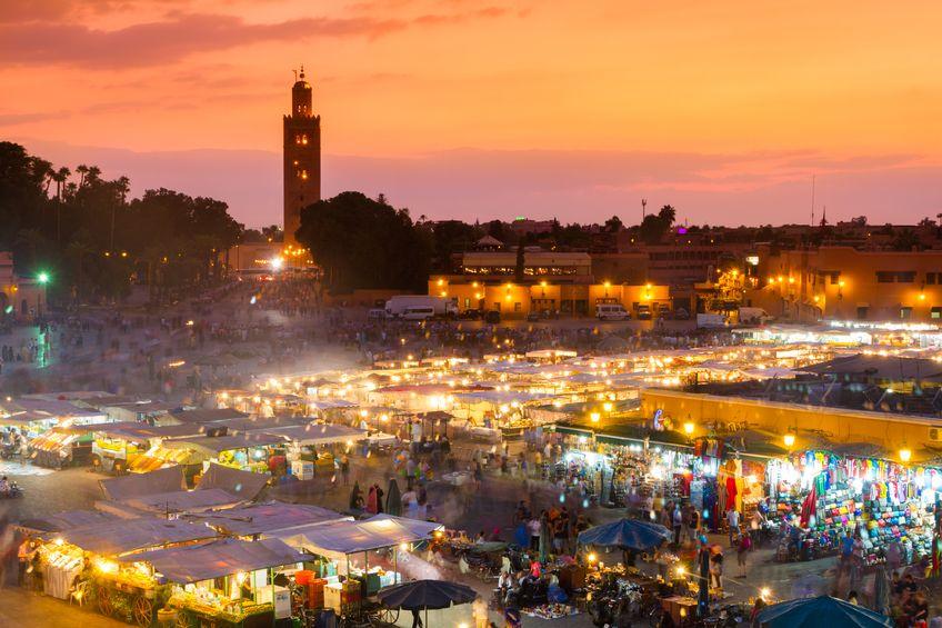 Marrakesh, Morocco,