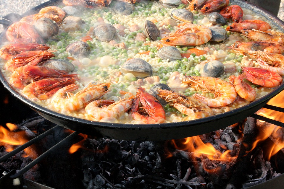 Paella in the Canary Islands