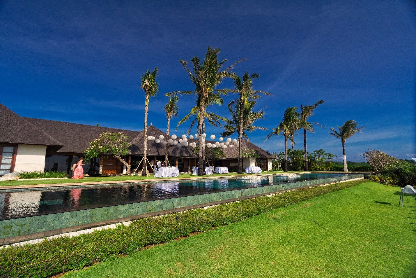 Spectacular accommodations in Bali