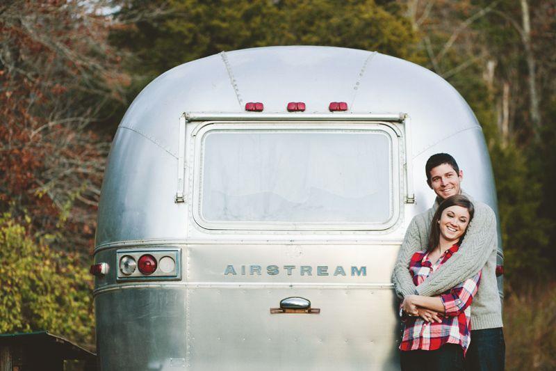Retro-Romantic Airstream Honeymoons