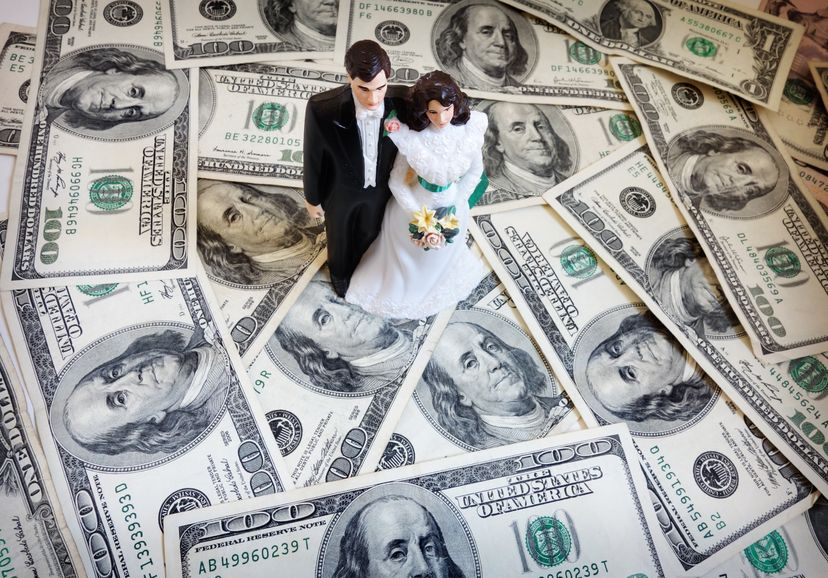 Unexpected wedding expenses
