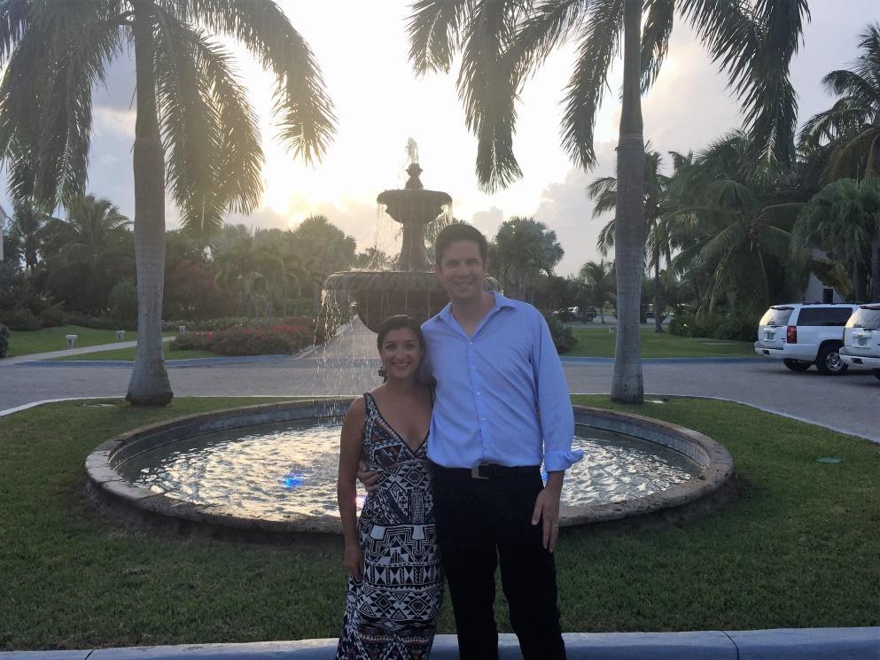Erica & her new husband
