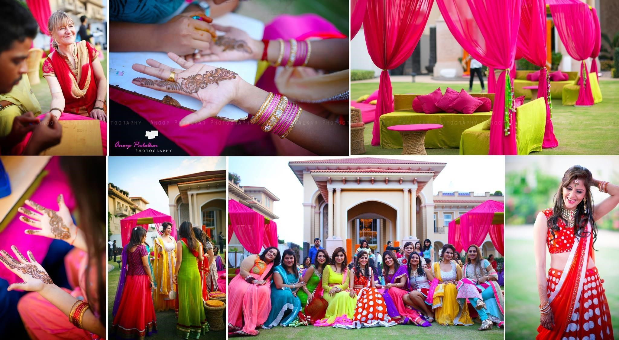 Mehendi, indian wedding ceremony