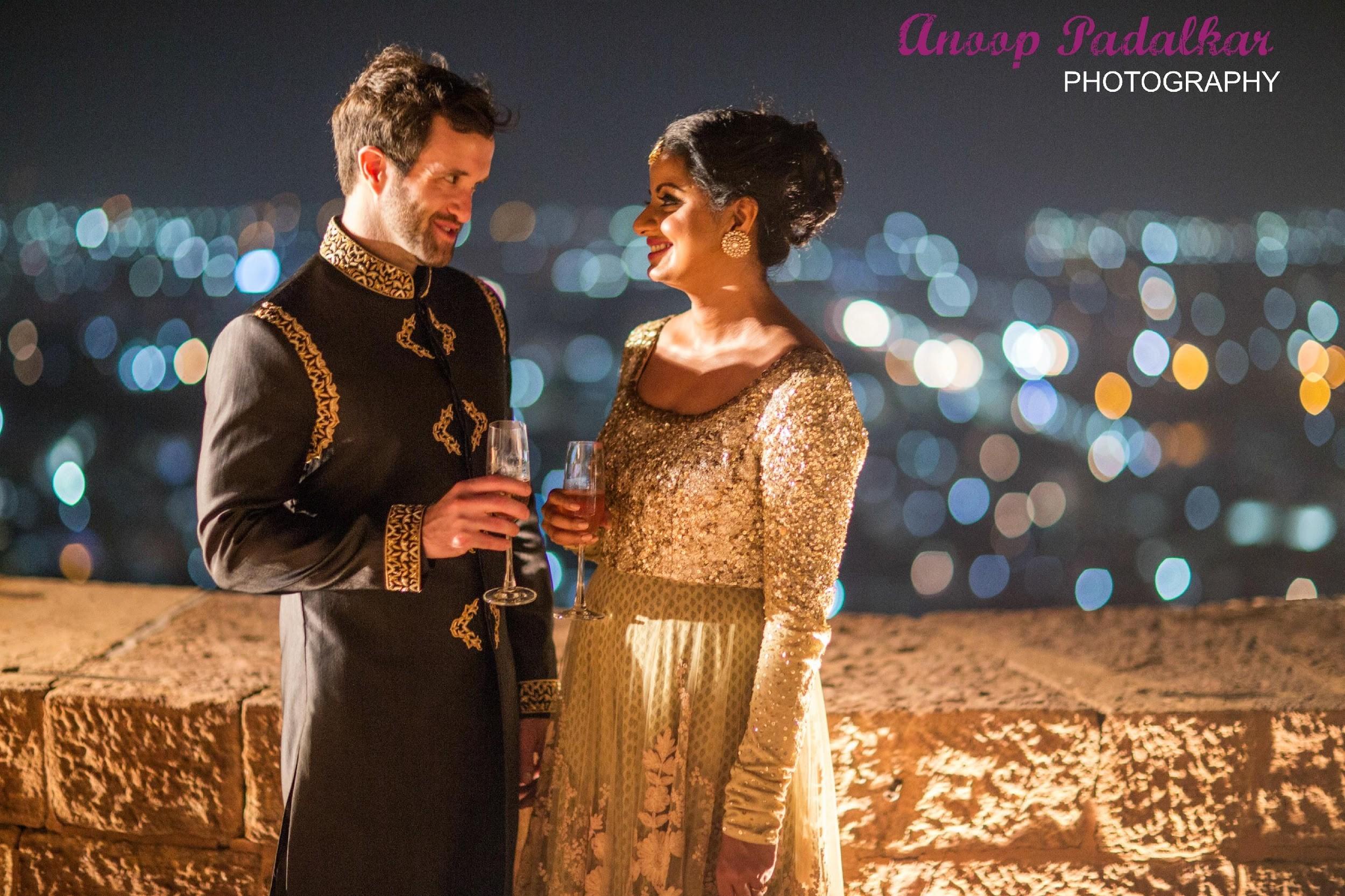 Cocktail & Sangeet, indian wedding
