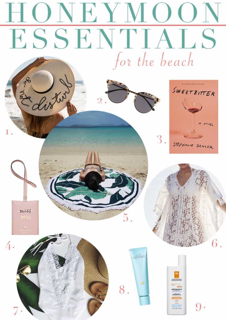 Essentials for your beach honeymoon