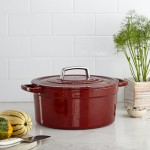 Marth aStewart Collection Collectors EnameledCastIron 6Qt Round Casserole
