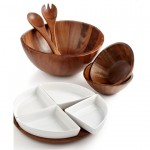 The Cellar Acacia Wood Collection Serveware Bowls Wooden