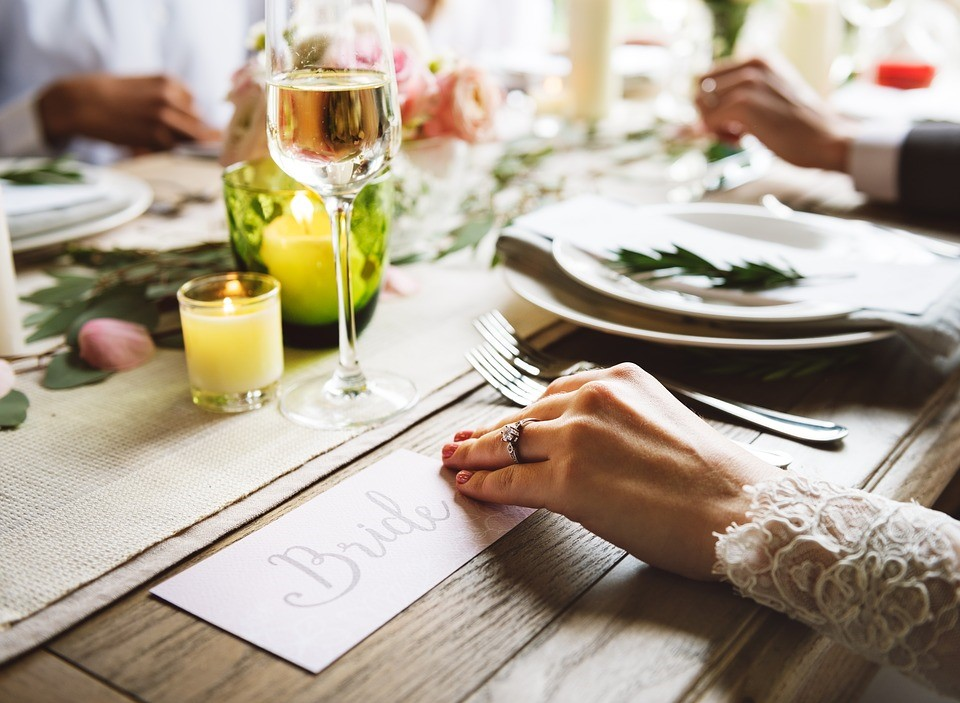 Prepare your wedding reception seating chart