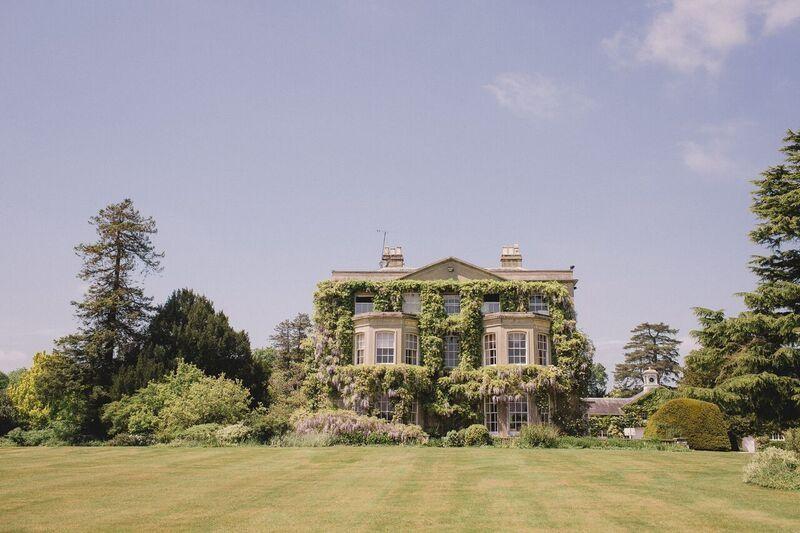 Northbrook Park palatial ivy-clad 18th-century manor
