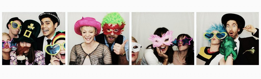 Photo strips make weddings fun