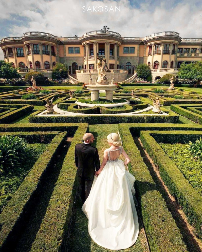 Have your wedding at the luxurious Pasadena Princes
