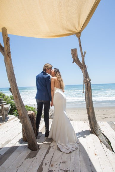 Have your wedding at The Sandcastle at Malibu