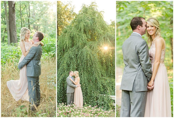 Golden Hour Engagement-Photos at-the Arboretum