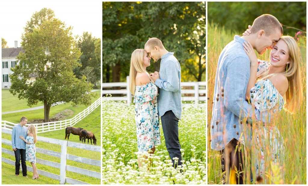 Shaker Village Summer Engagement Photos