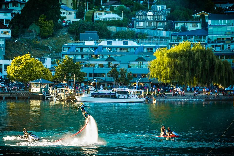 Water sports in Queenstown NZ