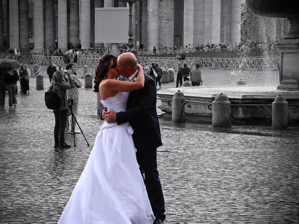 Start your life together in Rome