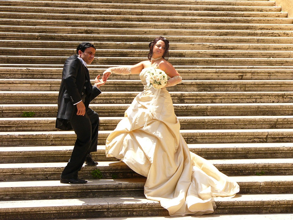 Many choices when getting married in Rome
