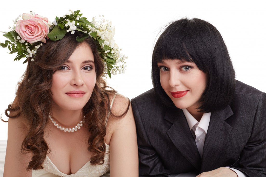 Coordinating attire for same sex wedding