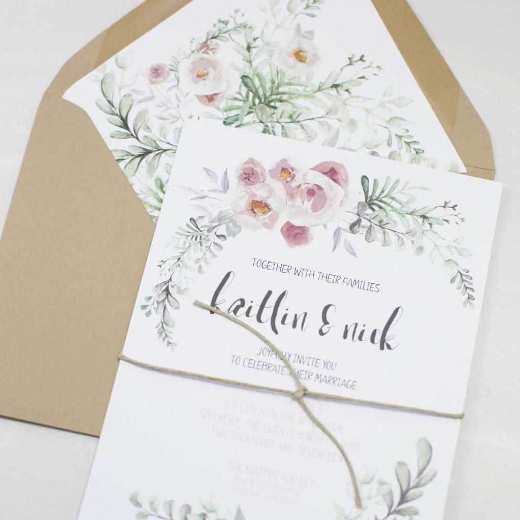 Embellishments - envelope liners