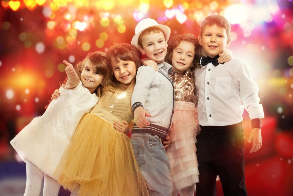 Babysitting kids at a wedding