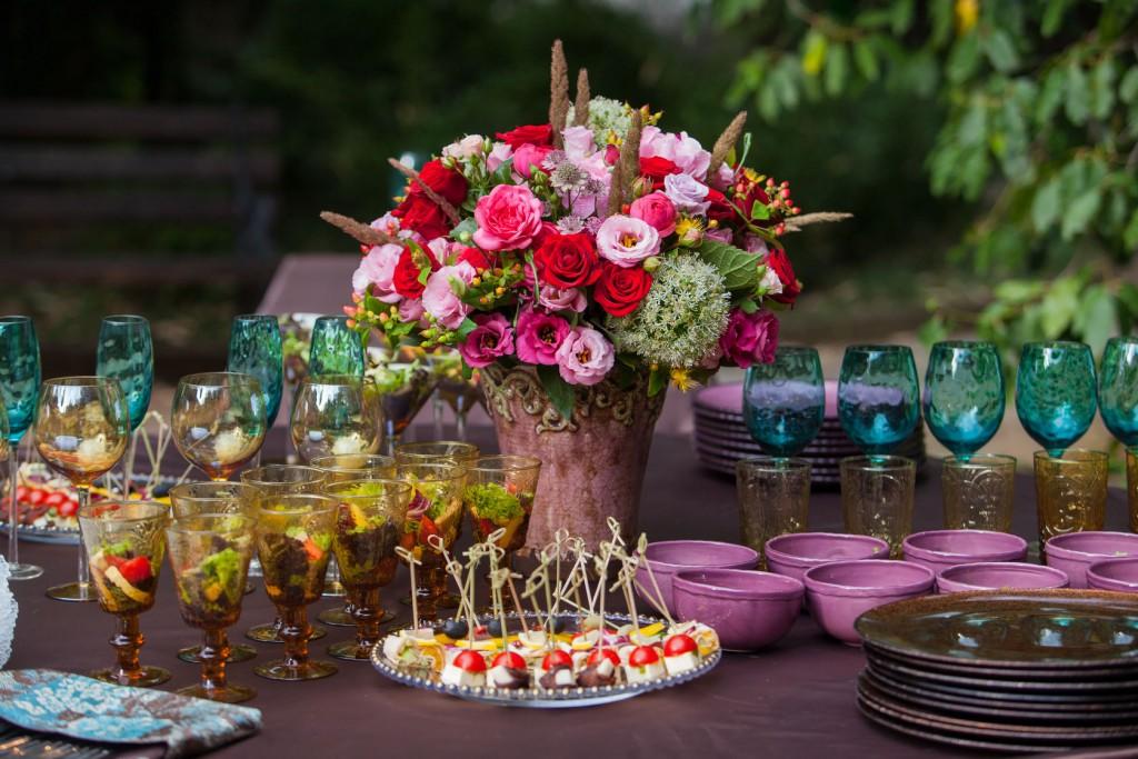Planning a lavish reception