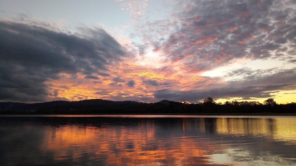 Sunset on the Gold Coast