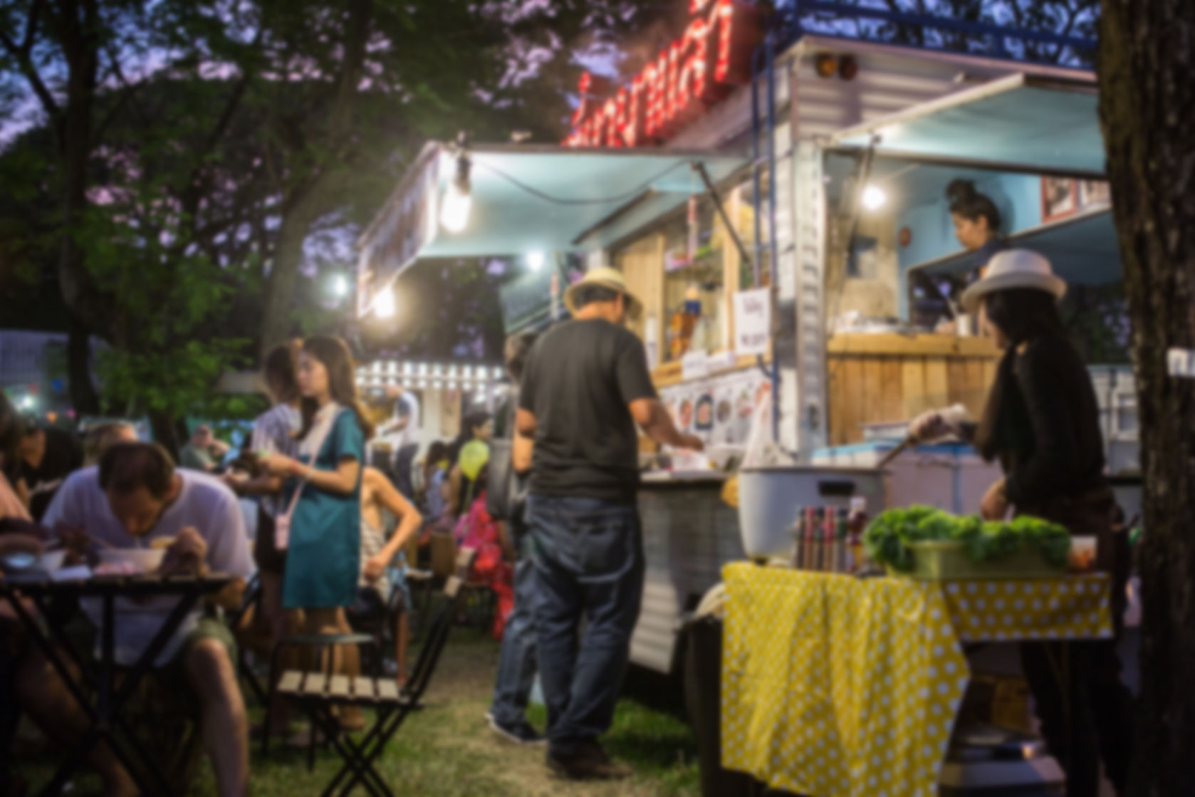 Food trucks add flare to post-elopement parties