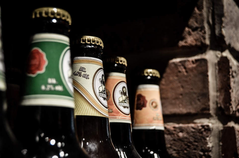 Offer beer and wine