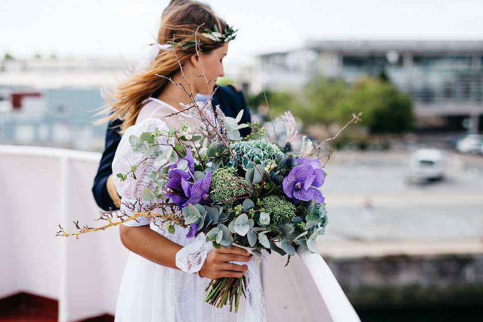 Big bouquets dominate current trends
