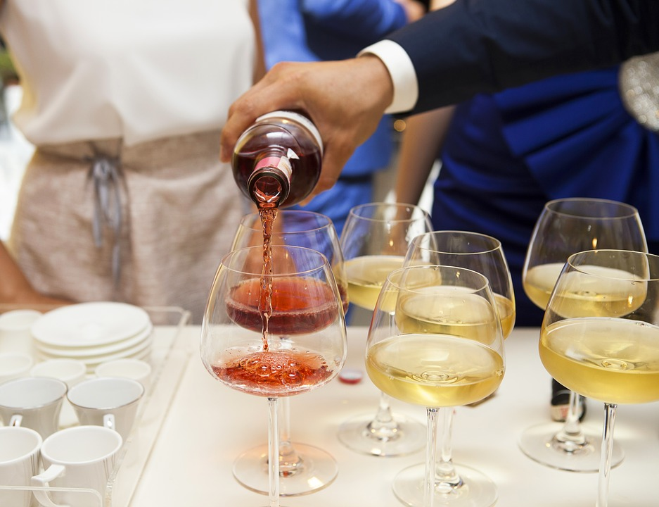 Offer wine instead of mixed drinks