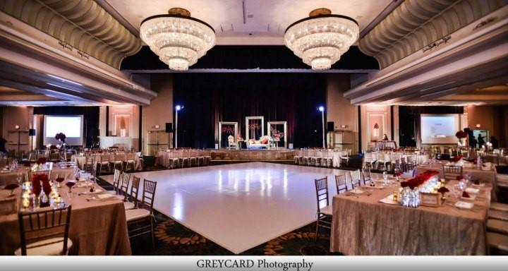 Reception venue at India wedding