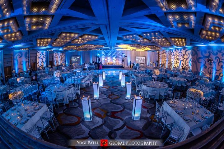 Let the wedding banquet begin