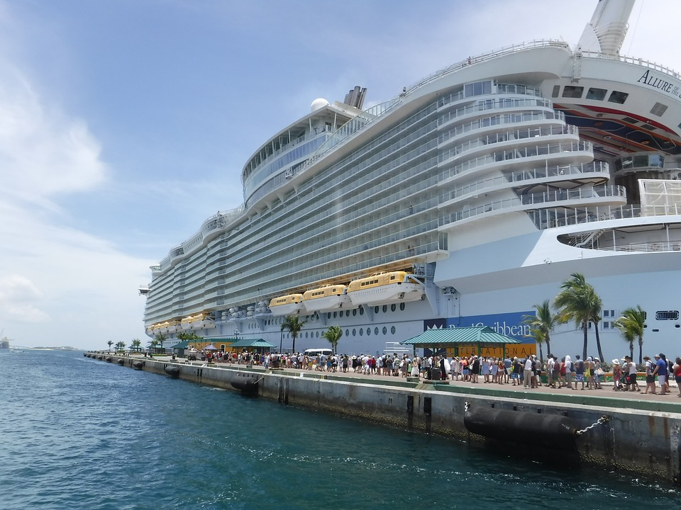 Large cruise ships offer many options