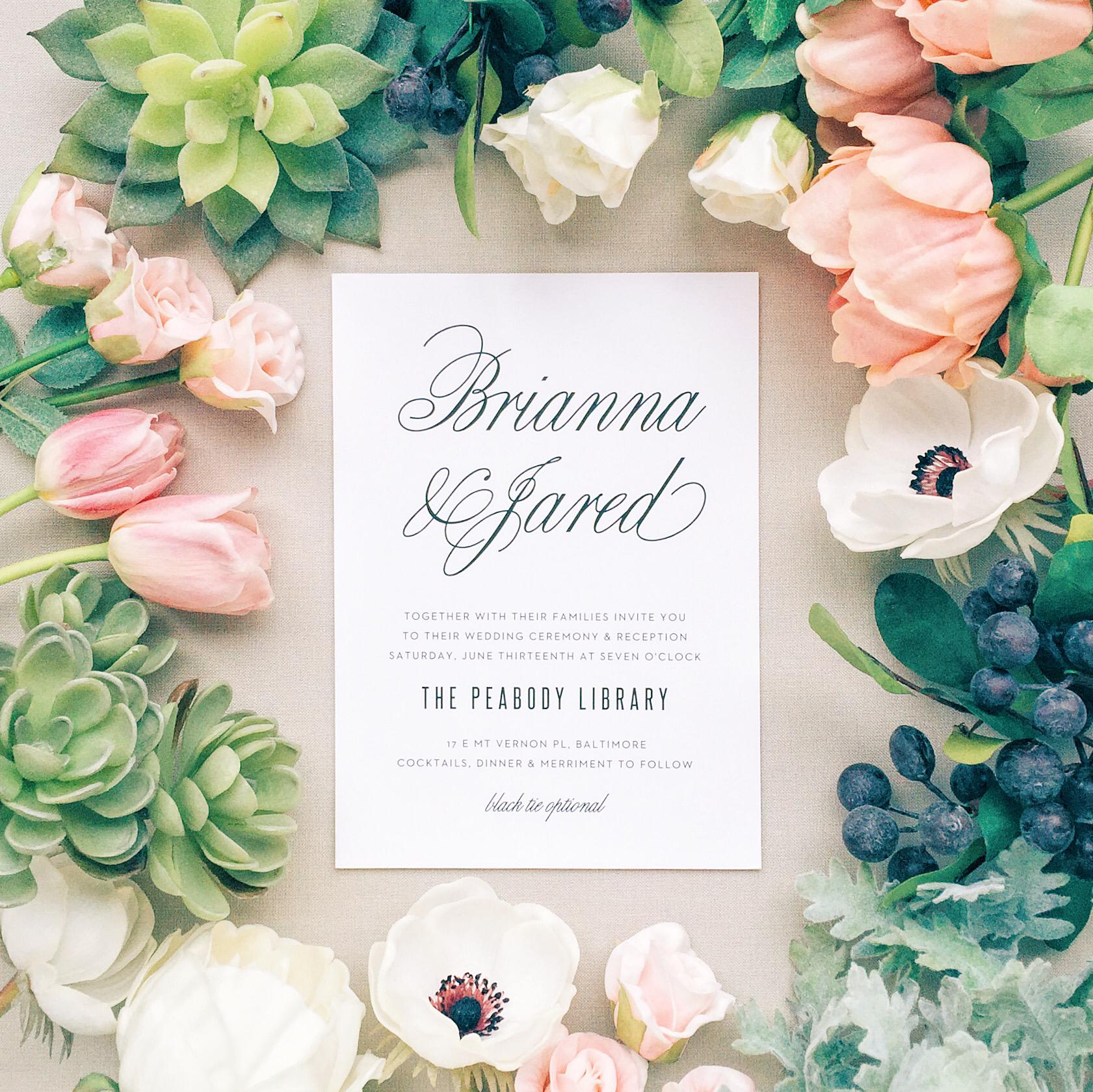 Basic Invite Wedding 6
