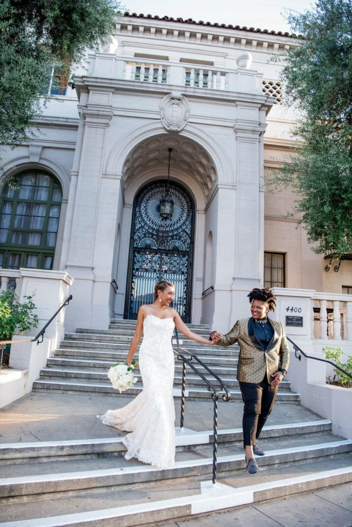 Wedding of Alyssa & Lauren at the Ebell