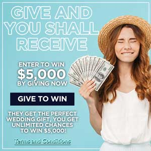 Give to Win $5k Cash