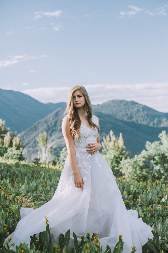 Bargain or designer wedding dress