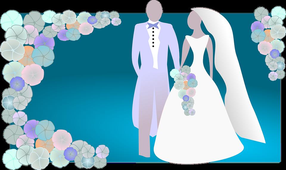 Marbling Effect Wedding Trends