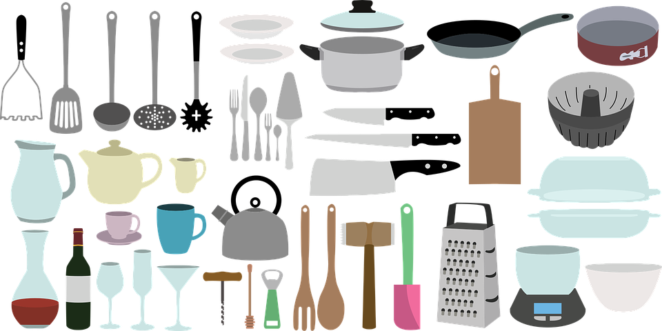 Kitchen equipment for your registry