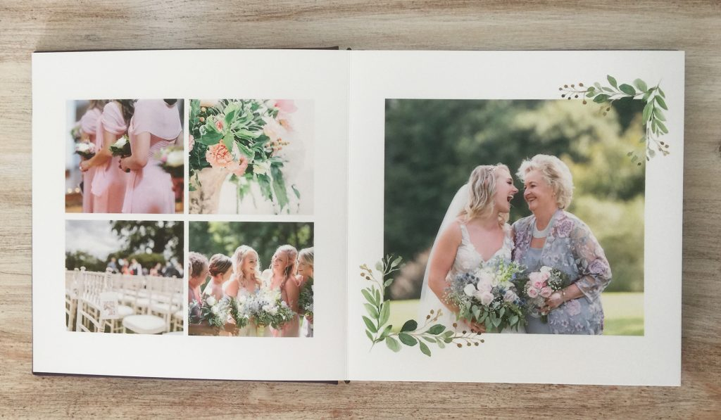 Create your own wedding photo album