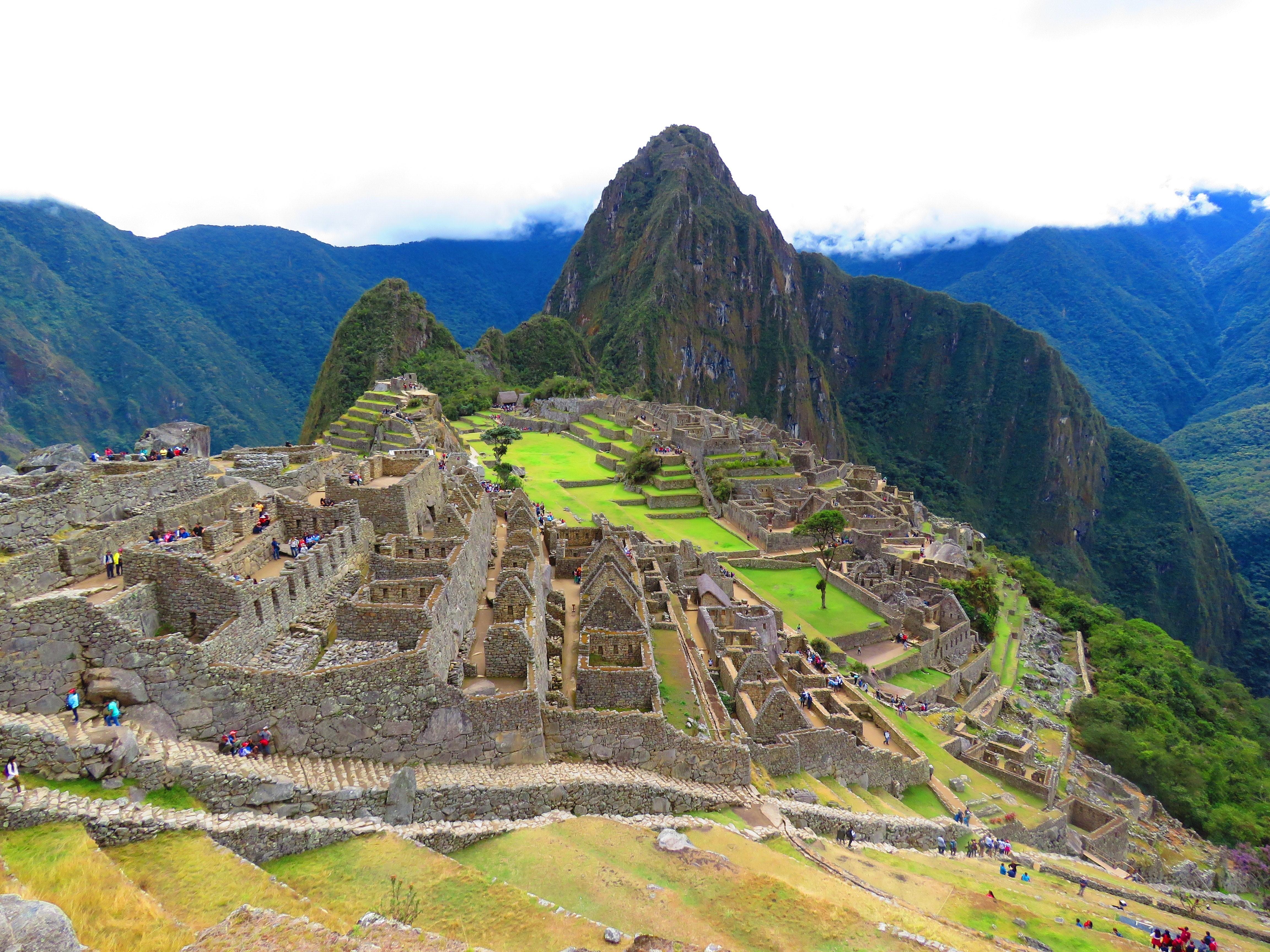Ancient Inca city